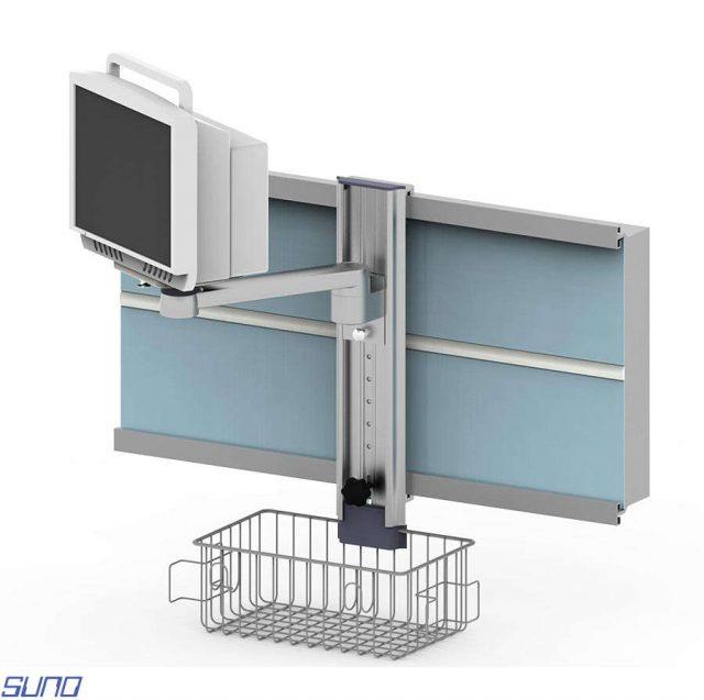 DMS-H200-4RT Hastabaşı Monitör Sehpası