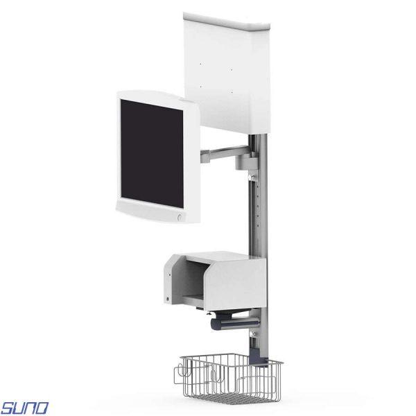 Custom Designed Wall Type Monitor Stand